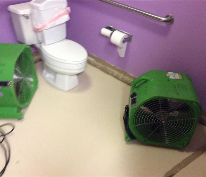 Commercial Bathroom Needs Remediation After