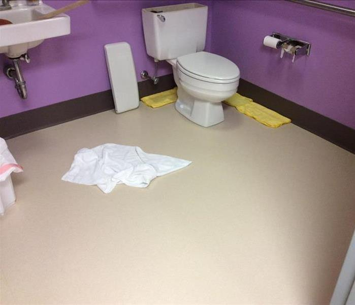 Commercial Bathroom Needs Remediation Before