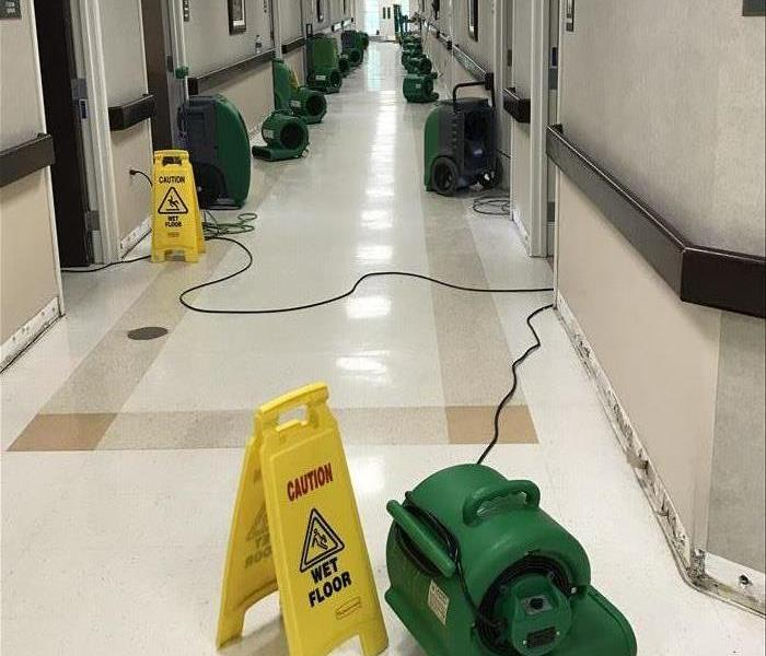 Commercial Faster to Any Size Commercial Water Damage in Canton, OH